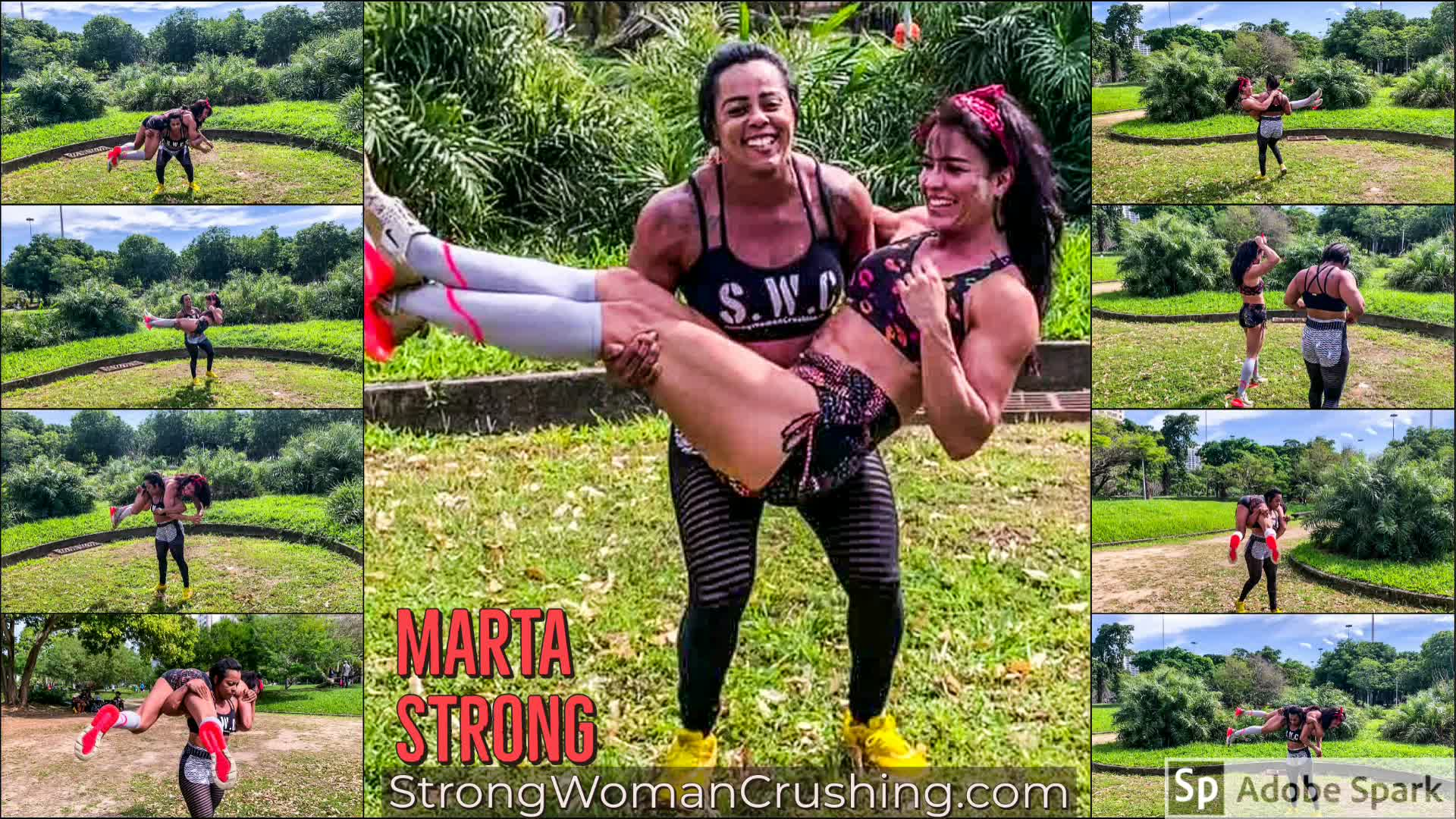 Martastrong lift and carry | Strong Woman Crushing