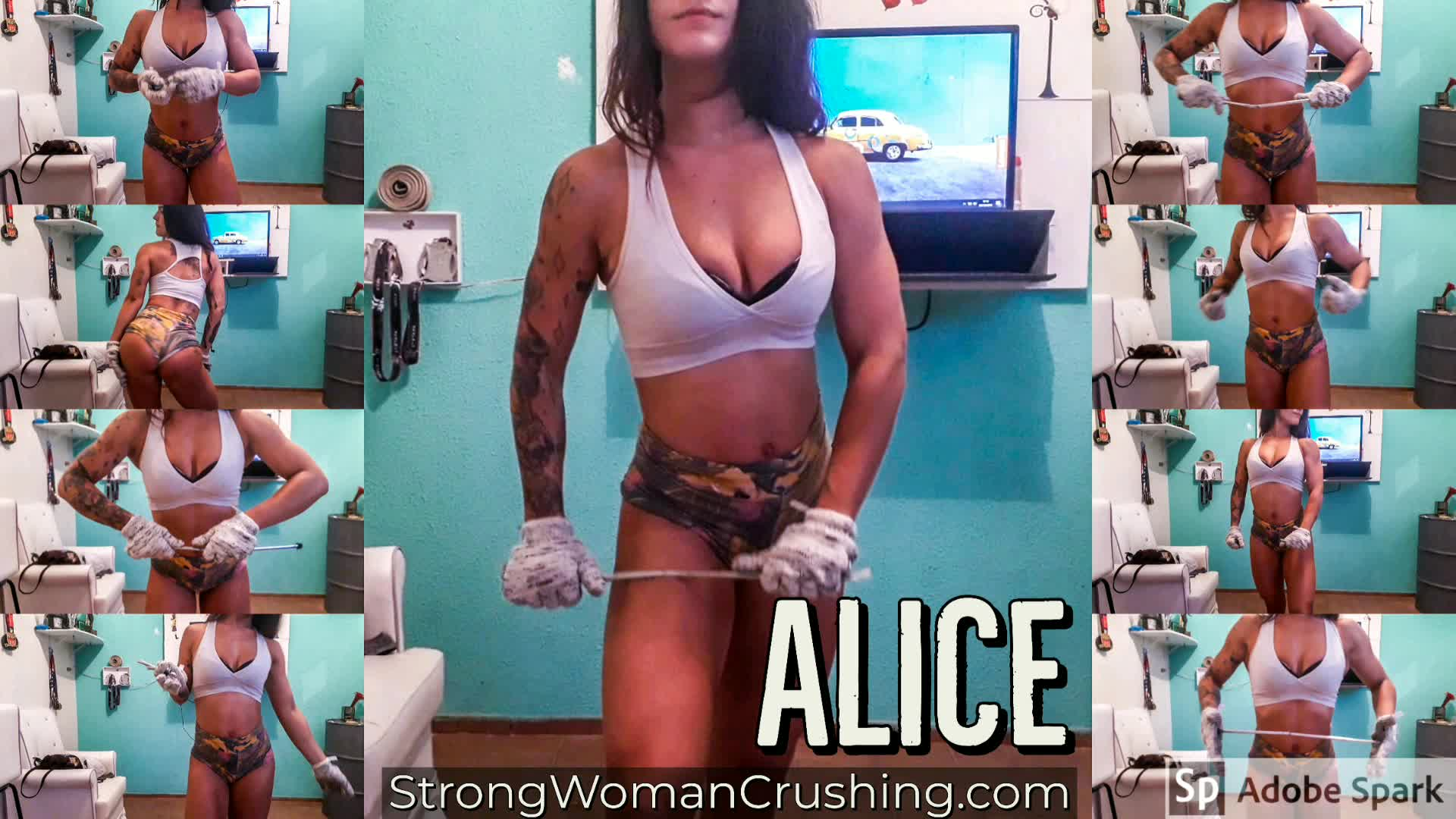 Alice bar bending beauty